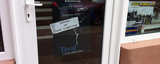 Lesung im Café Liebling