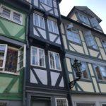Unterwegs in Wolfenbüttel um Schreibeindrücke zu sammeln