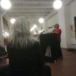 Begrüßung durch die Leiterin der Stadtbücherei