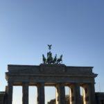 Brandenburger Tor von Osten
