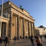 Brandenburger Tor von Westen