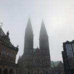 Bremer Dom in Nebel
