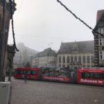 Bremen im Nebel