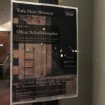 Talk Noir Veranstaltungsplakat Bremen