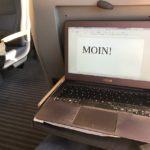 Schreiben im Zug