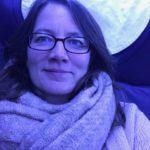 Nachts im Zug. Müde und glücklich.