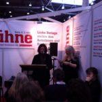 Lesung Anne Goldmann mit Verlegerin Else Laudan