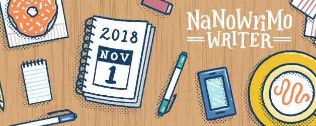 NaNoWriMo 2018 mit extra Krimi-Noir-Reise-Challenge
