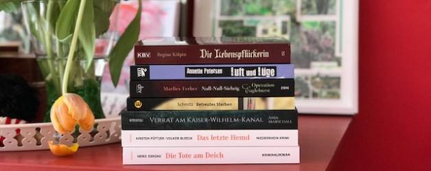 Sieben Autorinnen und sieben Krimis oder Spätfolgen einer Schreibklausur