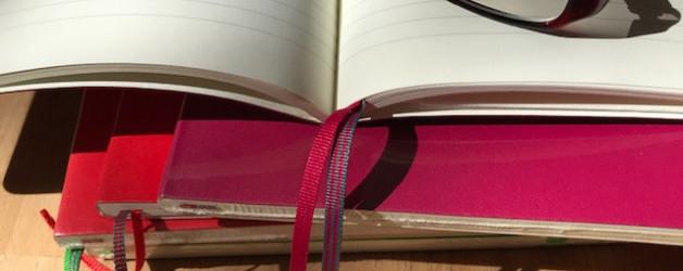 Sechs neue Notizbücher oder Decomposition-Books, Collegeblocks und noch mehr Notizbücher