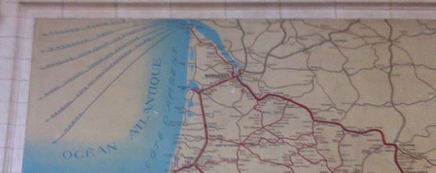 Reiseerinnerungen oder Bahnhofsnotizen aus Bordeaux