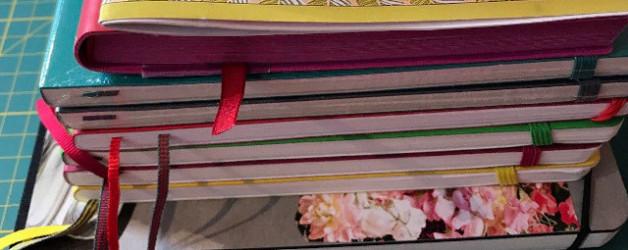 Tag des Notizbuchs oder ich schaue auf meine Notizbuchgewohnheiten